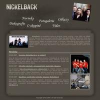 Neoficiální stránky skupiny Nickelback